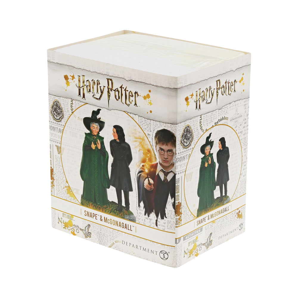 Professor Snape and Professor McGonagall Figurine - Harry Potter Village by D56