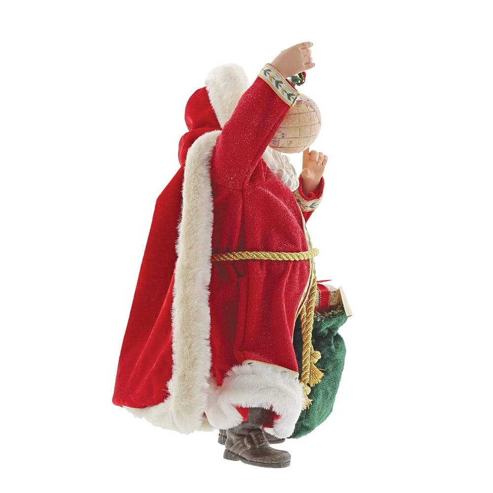 Santa Around the World Figurine - Possible Dreams by D56