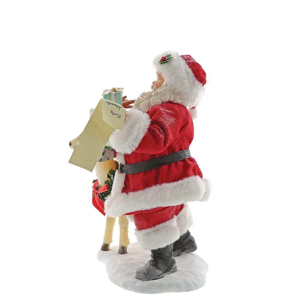 Deerest Santa Figurine - Possible Dreams by D56