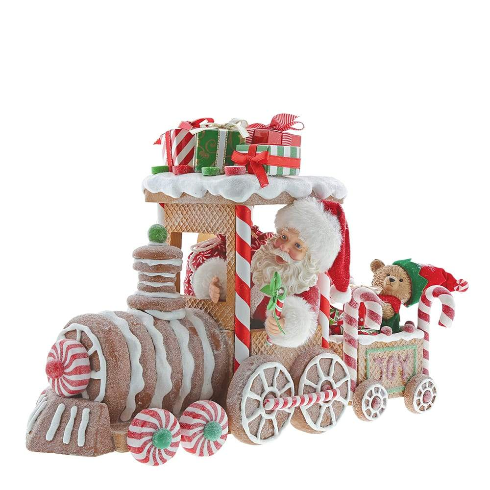 Gingerbread Train Figurine - Possible Dreams by D56