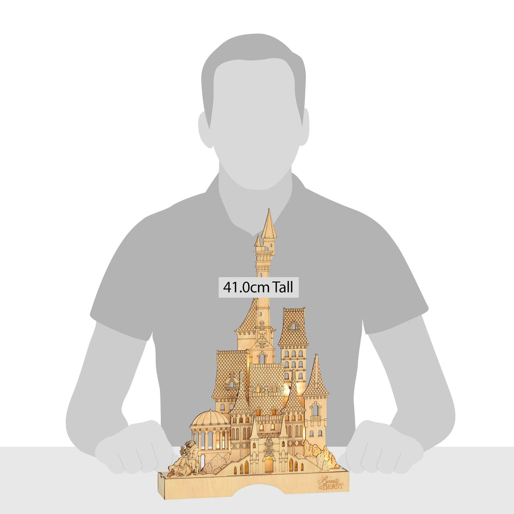 Beauty and the Beast Illuminated Castle