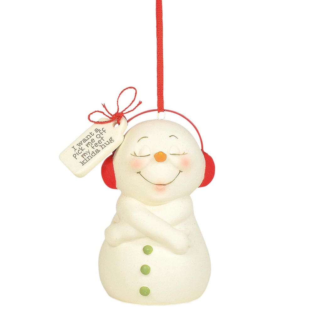 Snowpinions Pick Me Off My Feet Hug (Hanging Ornament)