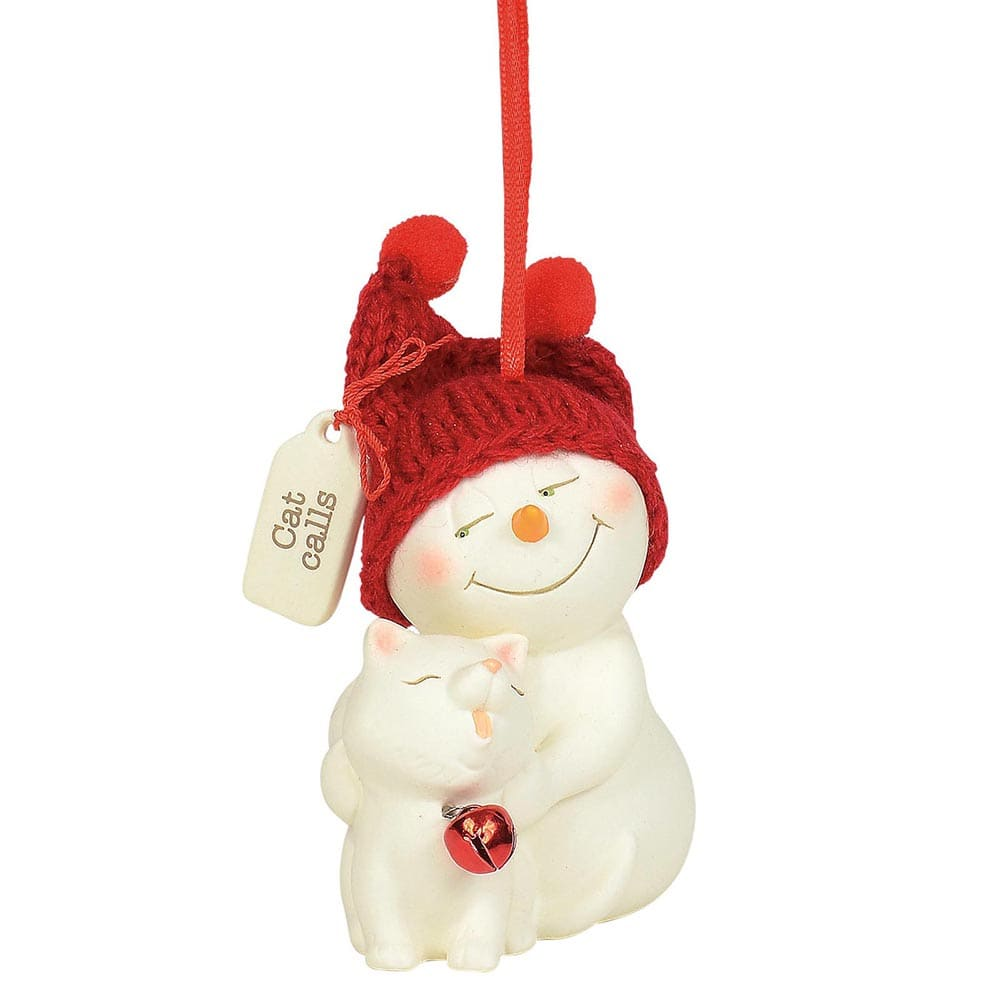 Cat Calls Hanging Ornament - Snowpinions by D56