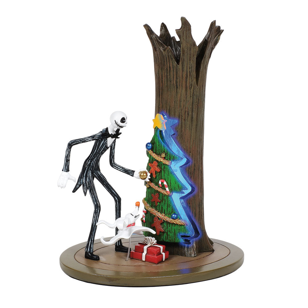 The Nightmare Before Christmas Village by D56 Jack Discovers Christmas TownFigurine