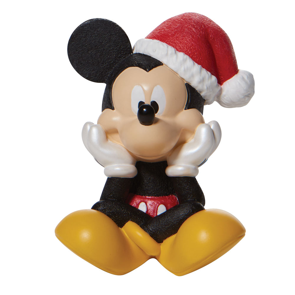 Christmas Mickey Mouse Figurine - Disney by Department 56