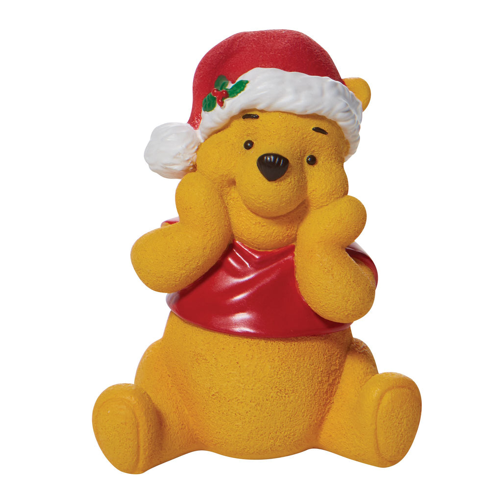 Christmas Winnie The Pooh Figurine - Disney by Department 56