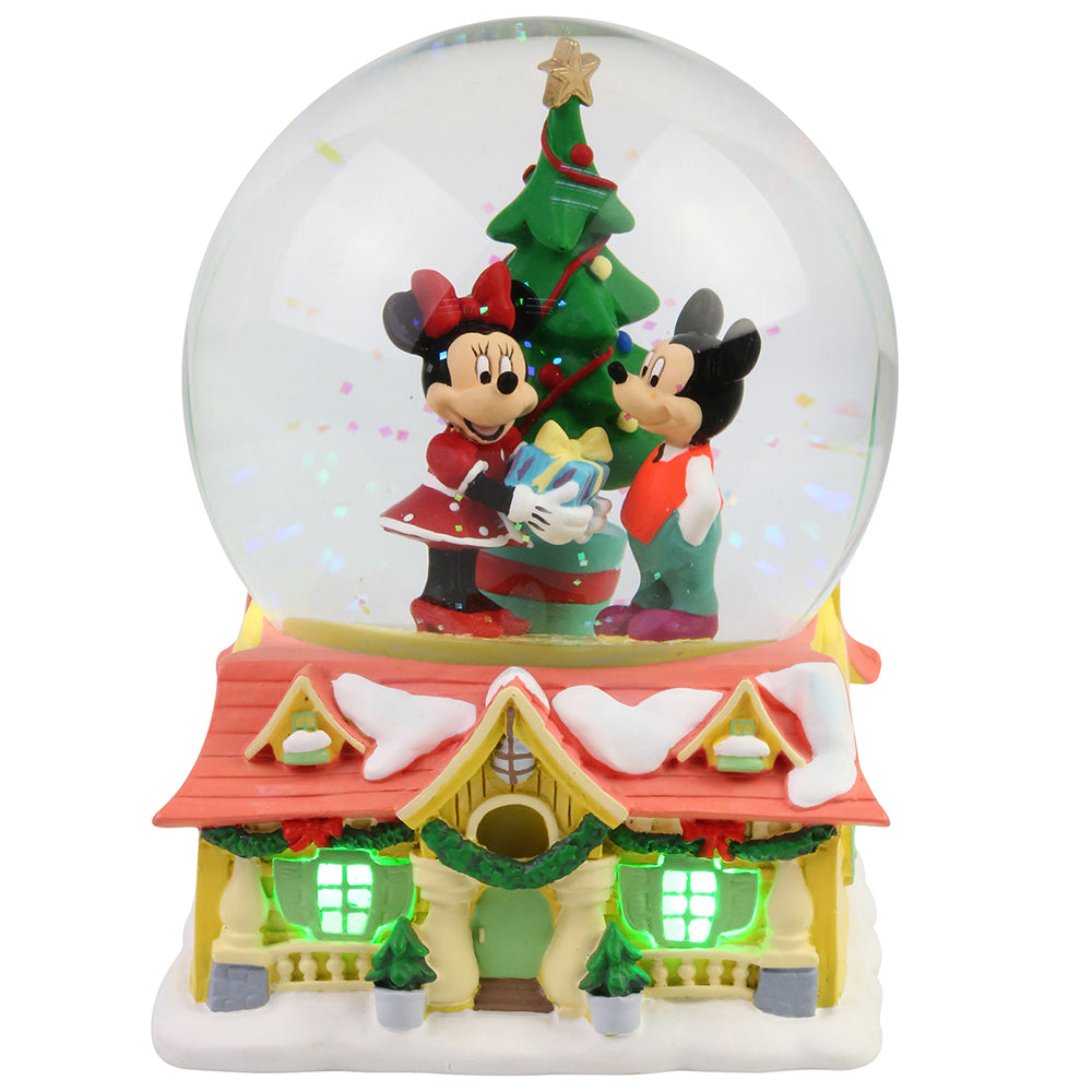 Mickey and Minnie Waterball - Department56