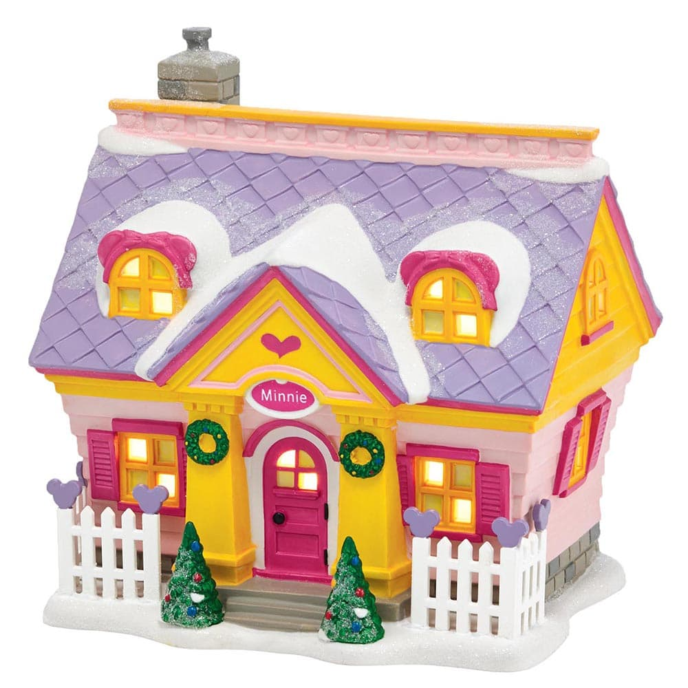 Minnie's House Model Building - Disney Village by D56 (EU Adaptor)