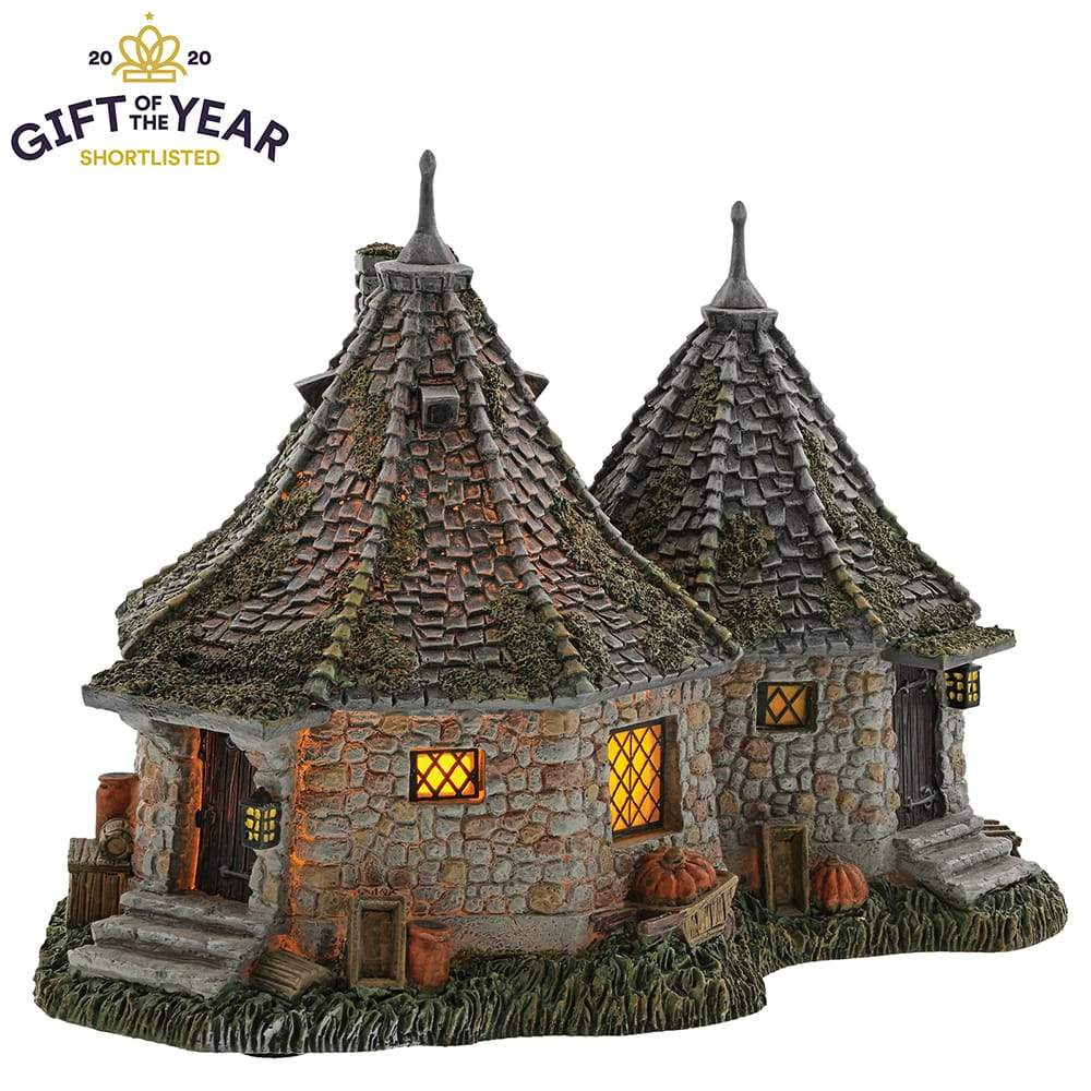 Hagrid's Hut Model Building - Harry Potter Village by D56