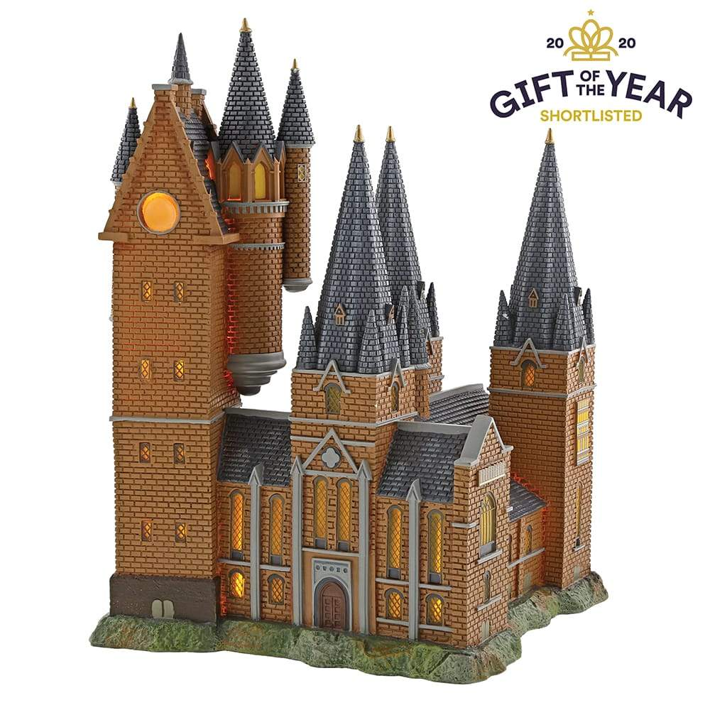Hogwarts Astronomy Tower Model Building - Harry Potter Village by D56