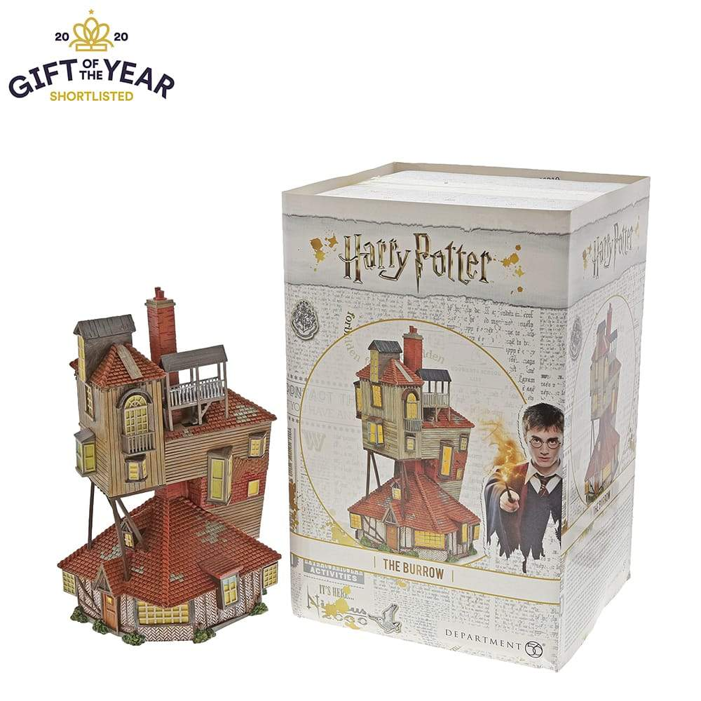 The Burrow Model Building - Harry Potter Village by D56