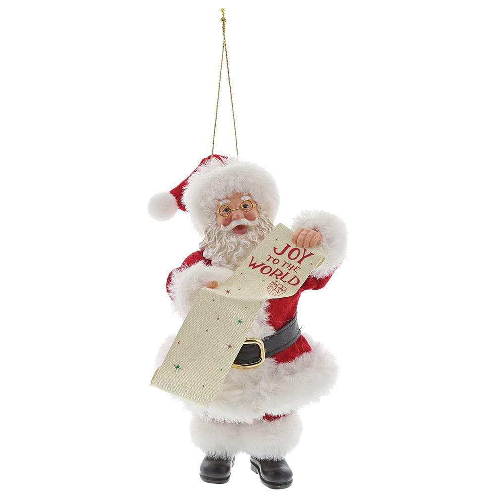 Joy to the World Ornament - Possible Dreams by D56