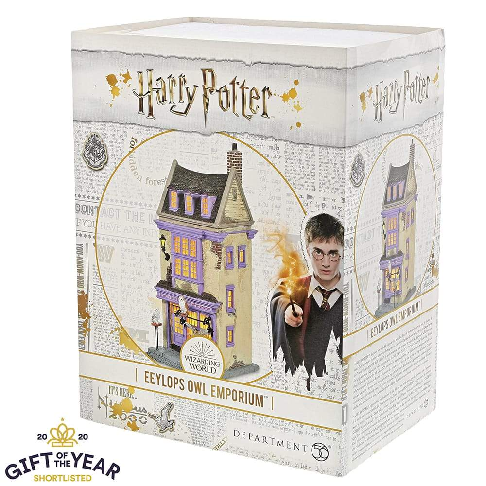 Eeylops Owl Emporium Model Building- Harry Potter Village by D56