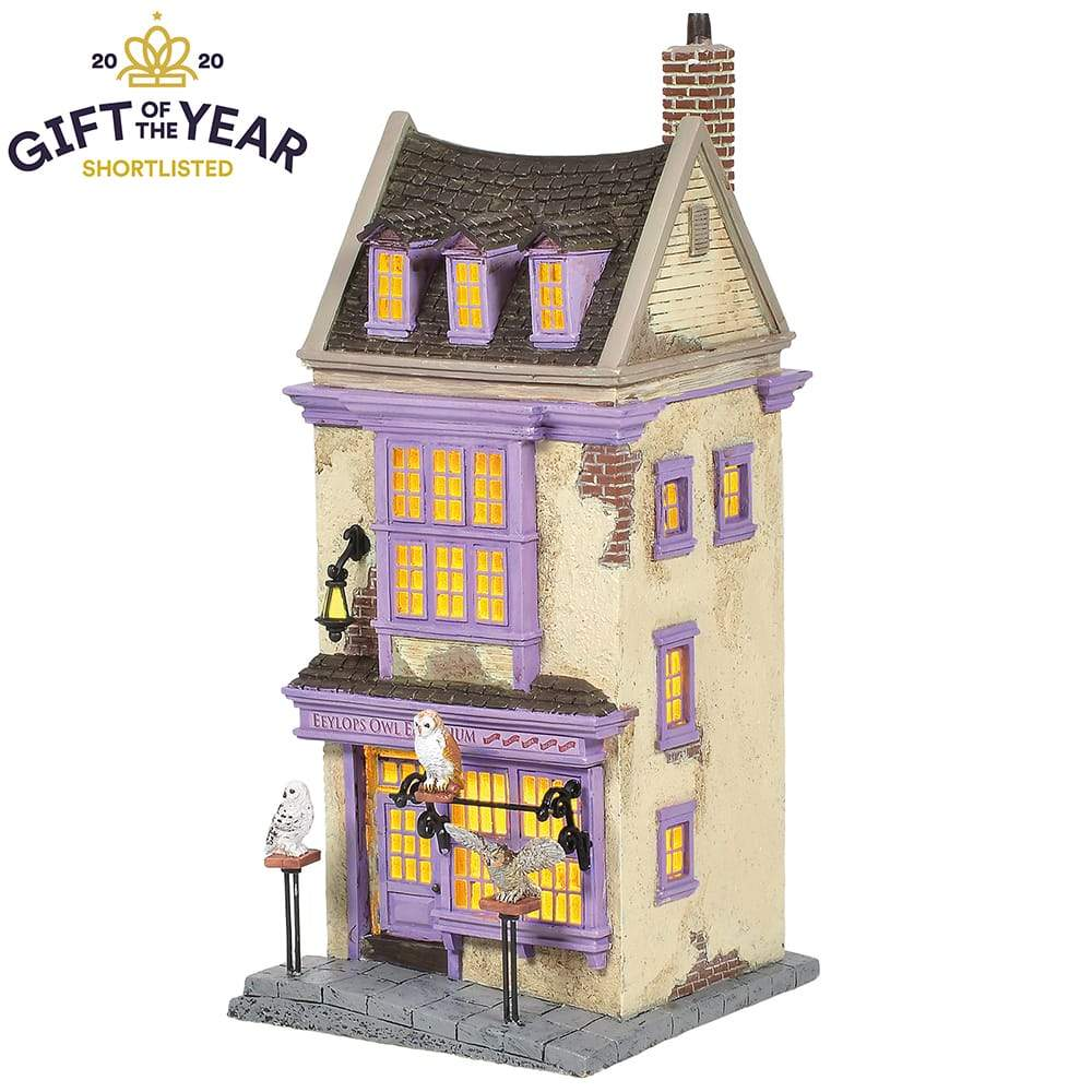 Eeylops Owl Emporium Model Building - Harry Potter Village by D56 (EU Adaptor)