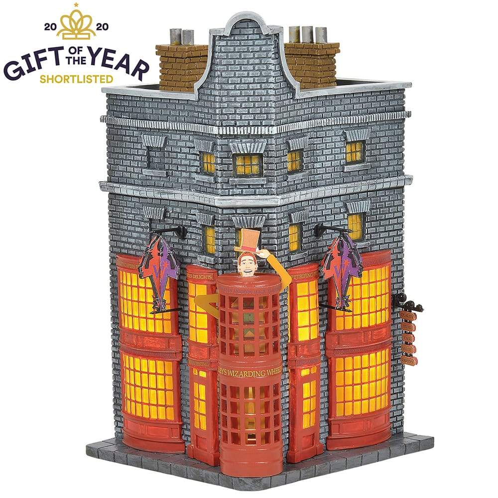Weasleys' Wizard Wheezes Model Building - Harry Potter Village by D56 (EU Adaptor)