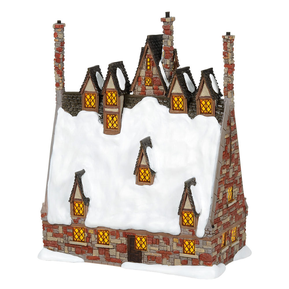 The Three Broomsticks Illuminated Model Building - Harry Potter Village by Department 56