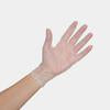 Crystal Clear Vinyl Gloves - Medium 100 pc