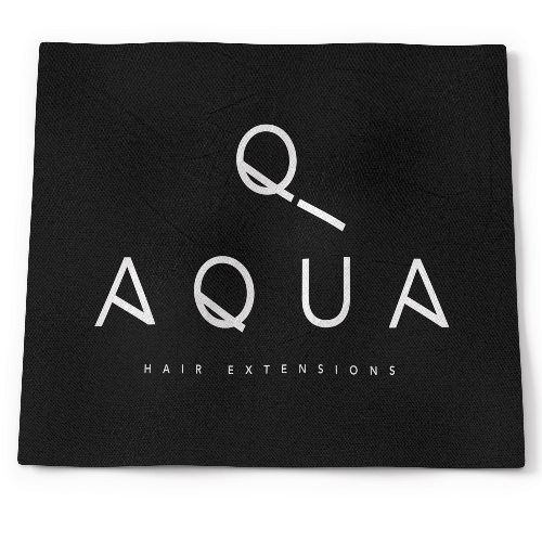Aqua Hair Extensions Black Cape