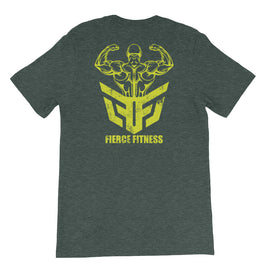 Uni-sex FF247 PREMIUM TEE - Fierce Fitness 24/7