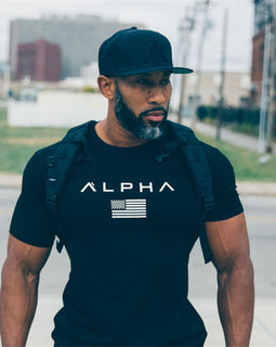 ALPHA MENS Tight Fitting Tee - Fierce Fitness 24/7