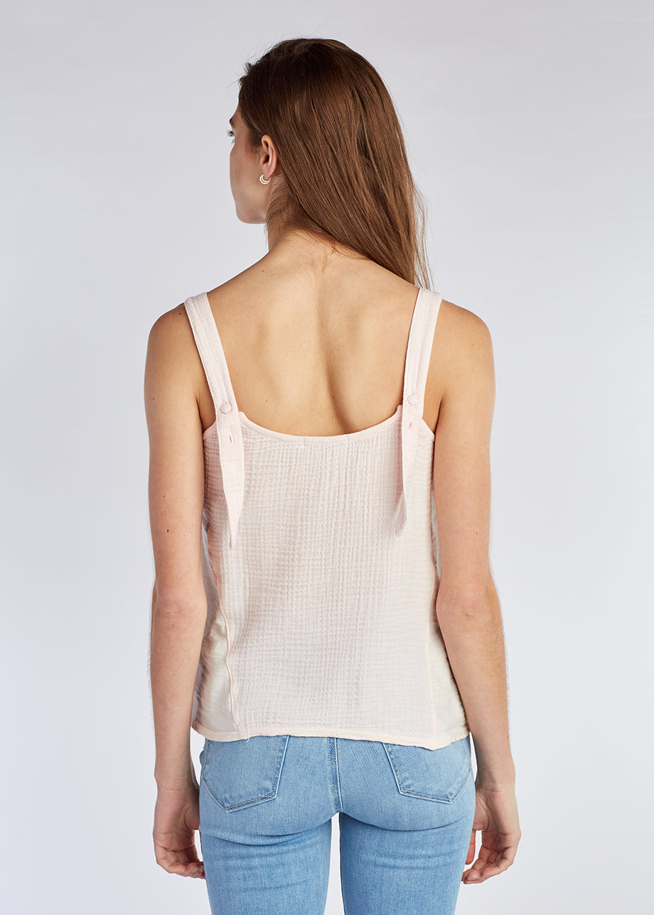BUTTON STRAP CAMI
