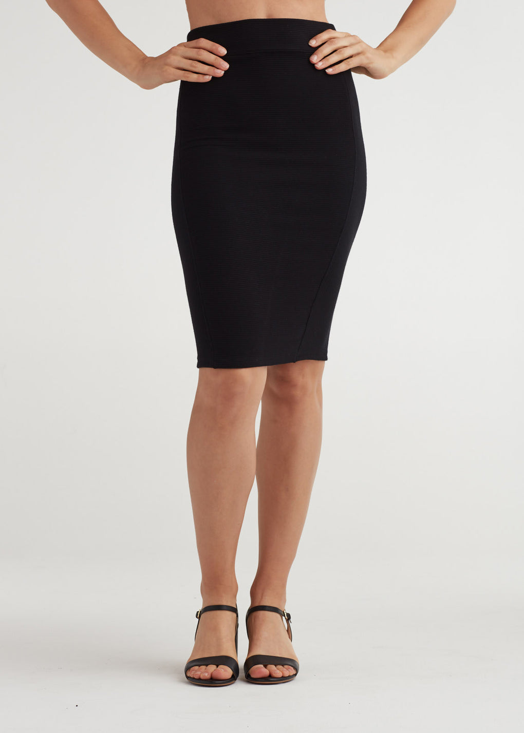 DIRECTIONAL PENCIL SKIRT