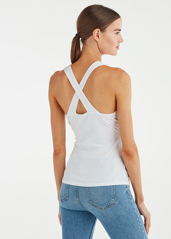 CROSS BACK SURPLICE TANK