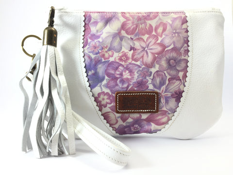 Take Me Everywhere Clutch - White
