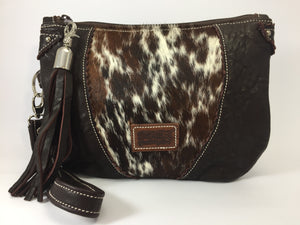 Take Me Everywhere Clutch - Double Choc Speckle