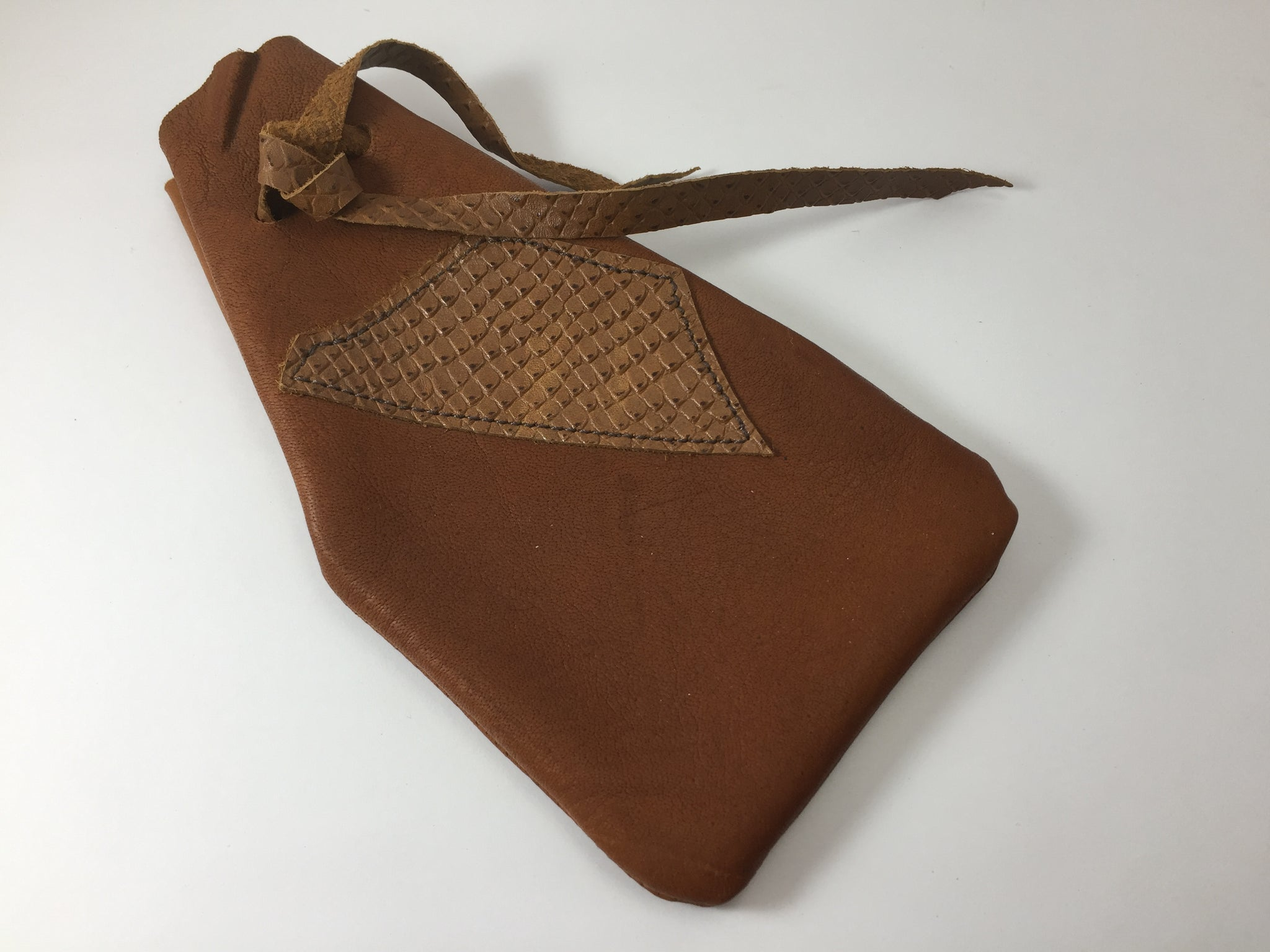 Keep Me Safe Pouch - Tan Kangaroo