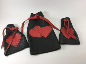 Keep Me Safe Pouch - Queen of Hearts
