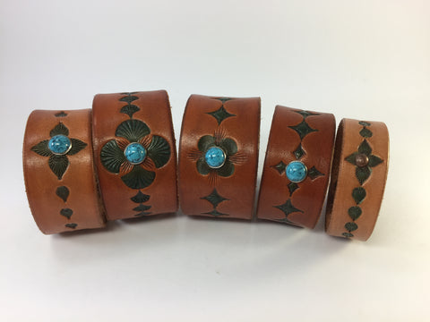 Turquoise Accented Boho Cuffs