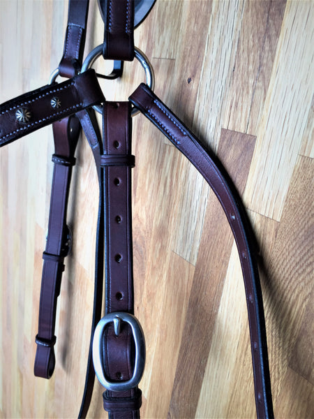Classic Stock Bridle with Feature Browband