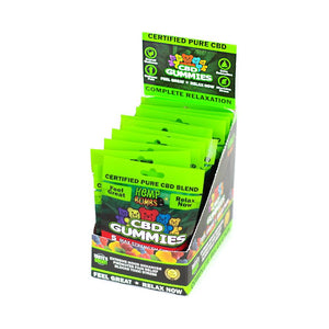Hemp Bombs CBD Gummies 75MG 50ML (12 Count) Display