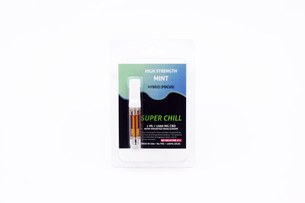 Super Chill Cartridge Mint 1ml 1000mg (1 Count)