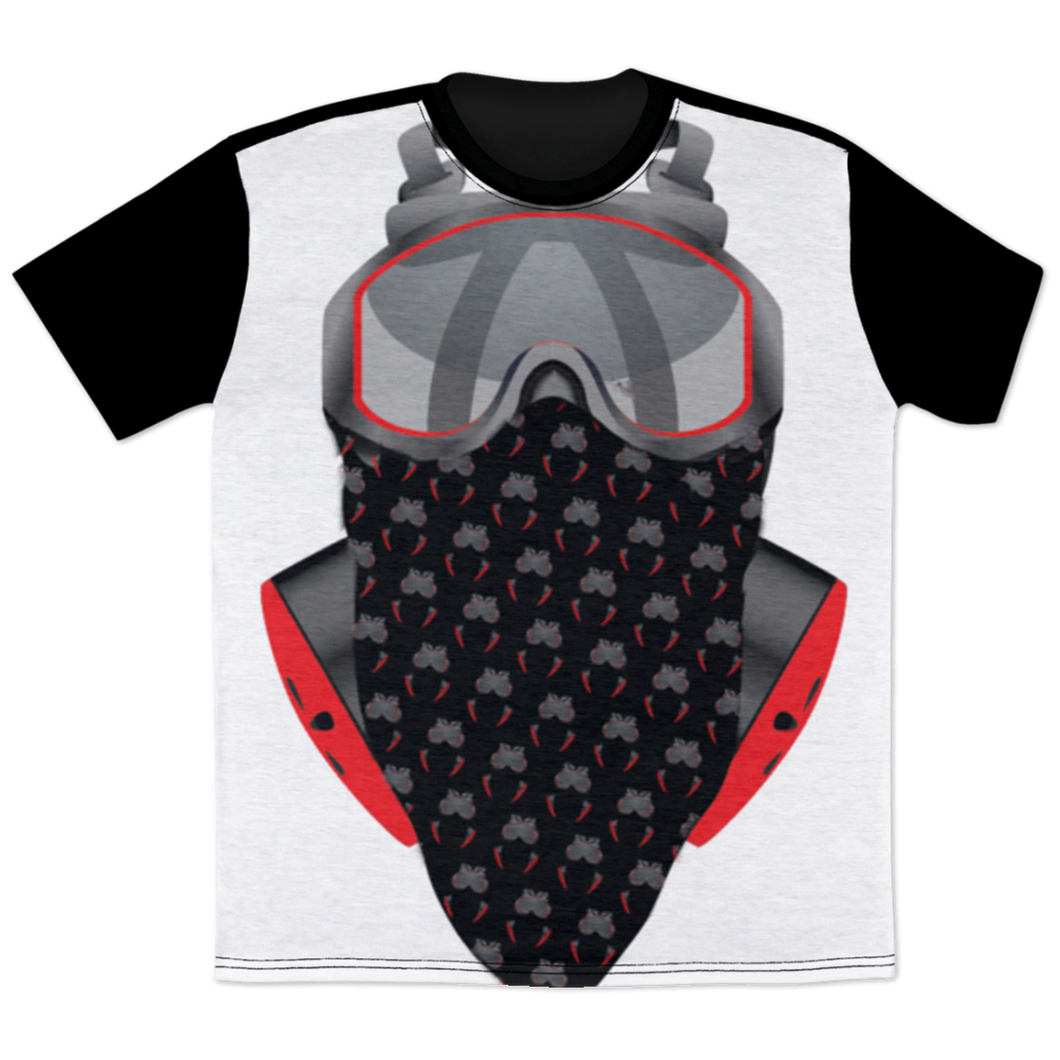 GasHouseVapours Gas Mask All Over Print T-Shirt