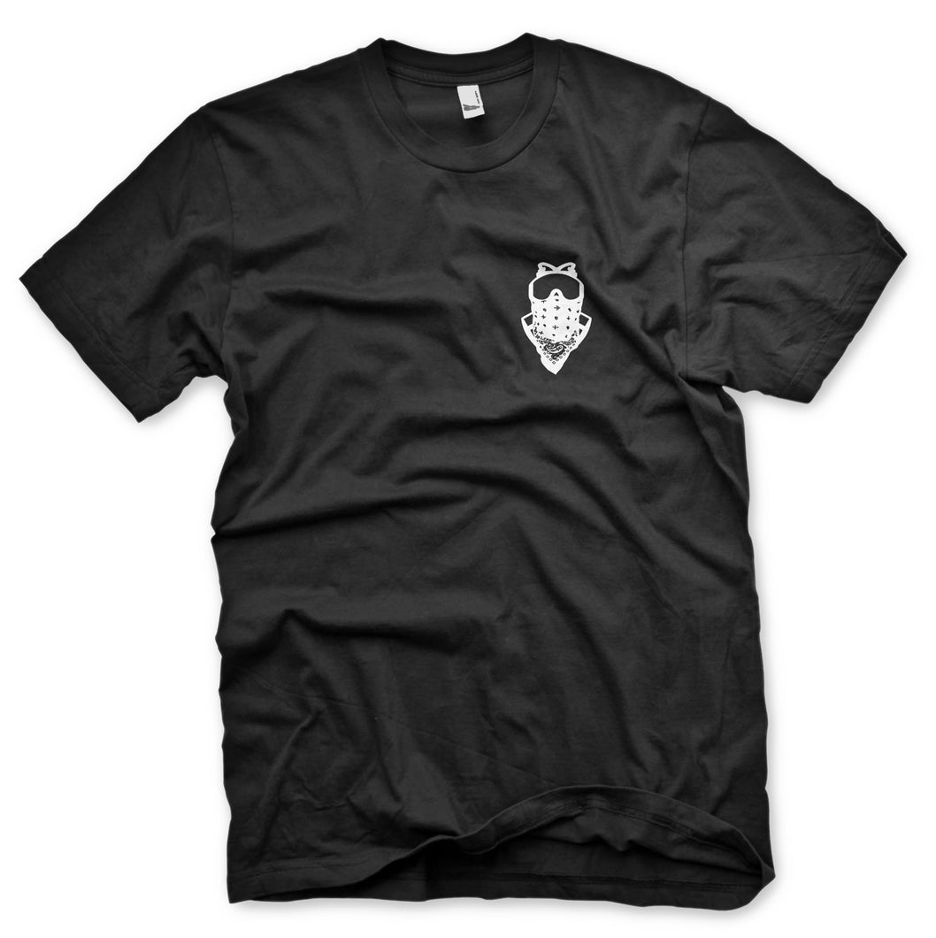 GasHouseVapours Gas Mask (Black) Tee