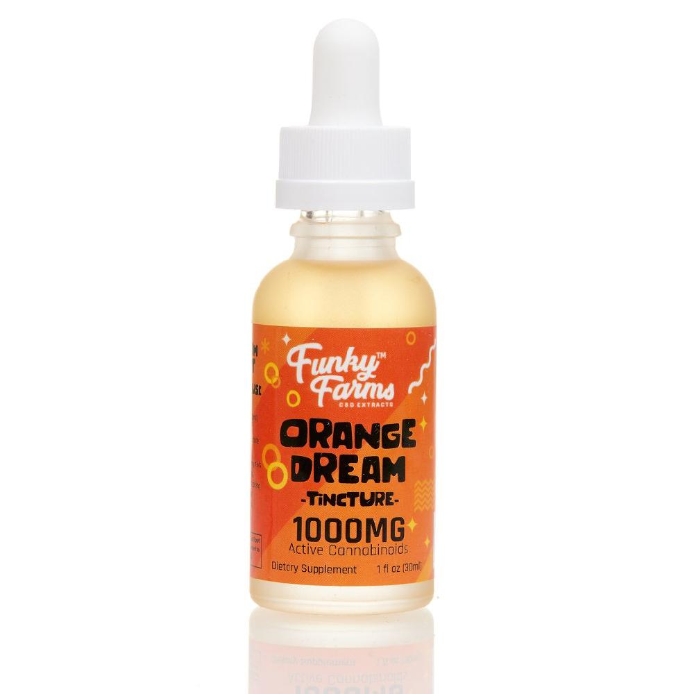 Funky Farms Tincture Orange Dream 30mL 1000MG (1 Count)