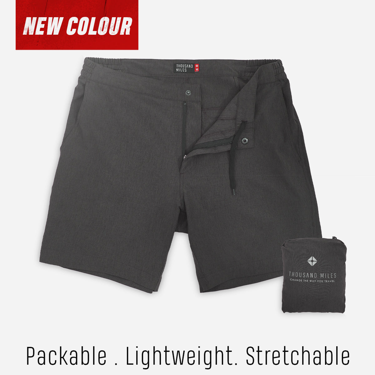 All Day Shorts (Omniflex™) - Dark Green