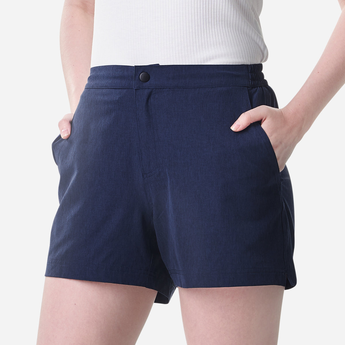Women All Day Shorts - Navy