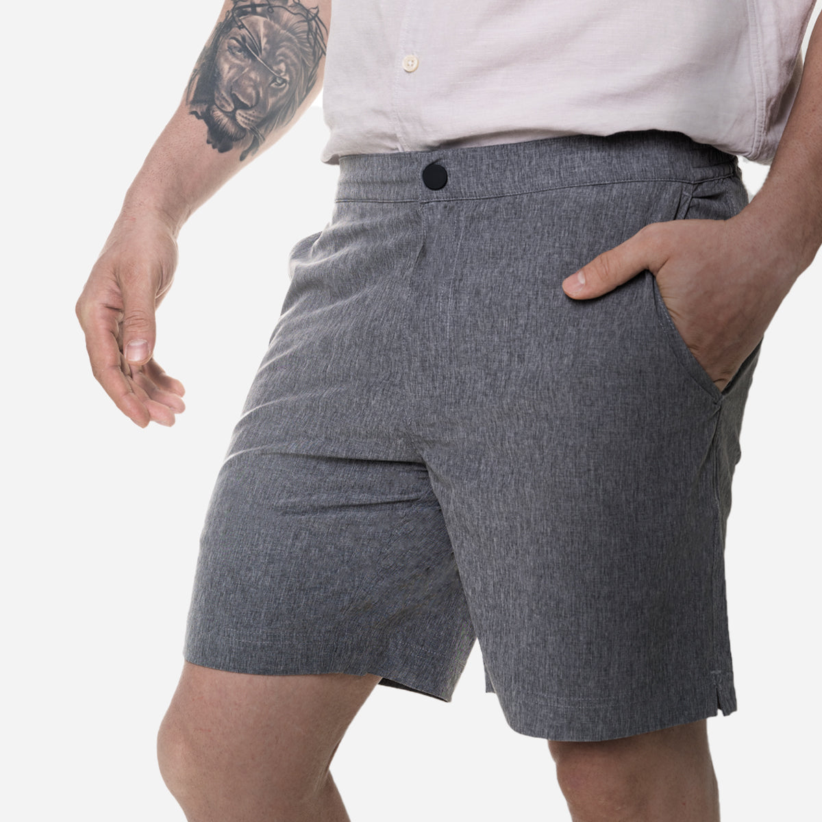 All Day Shorts (Omniflex™) - Urban Gray