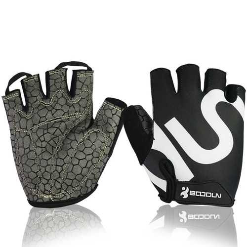 Unisex Fitness Bike Gloves Silica Gel Anti Slip Appliance Dumbbell Sports Glove