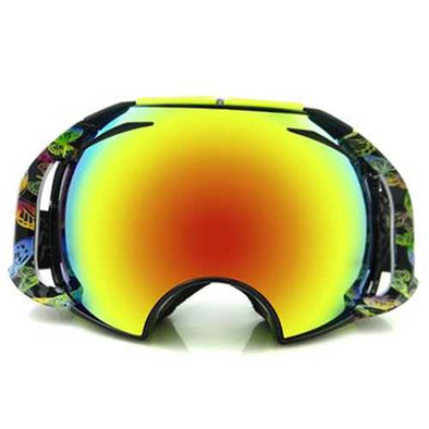 Anti Fog Double Ski Goggles Multifunctional Riding Goggles