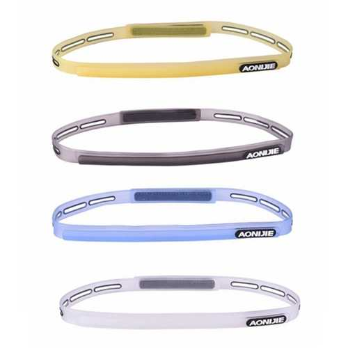Silicone Sweatband Multifunction Sports Headwear Running Cycling Sweat Control Head Band