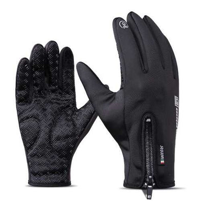 iwinter Touch Screen Windproof Waterproof Fleece Warm Winter Cycling Gloves