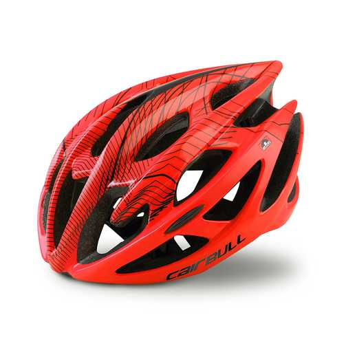CAIRBUL-01(STERLING) 58-62cm Cycling Racing Helmet Integrally Ultralight Ventilative Bike Helmet