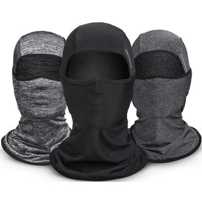 ROCKBROS Ice Silk Fabric Cycling Headgear Mask Face Mask Multifunction Scarf Summer Anti-UV Face Mask Neck