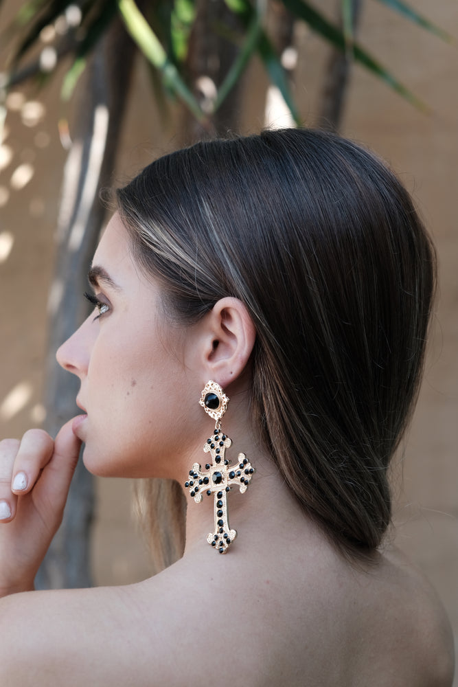Zara Earrings - Gold