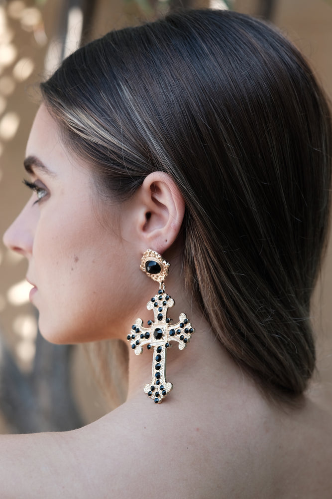 Zara Earrings - Gold - SAINT DELILAH