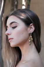 Montaine Earrings - Gold - SAINT DELILAH